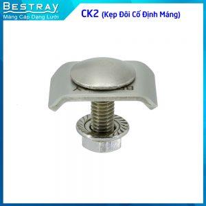 CK2 (kẹp đôi cố định máng)